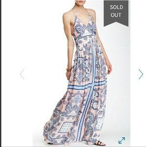 SOLD*TJD The Jetset Diaries Copacabana maxi dress